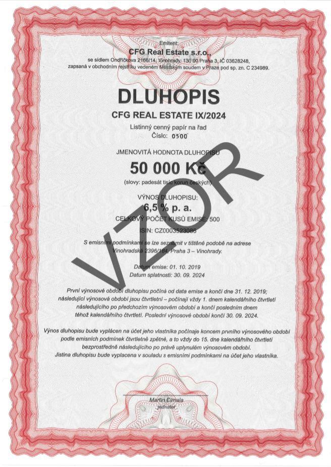 DLUHOPISY CFG Real Estate IX/2024