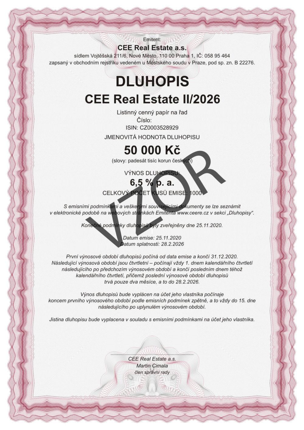 DLUHOPISY CEE Real Estate IX/2024