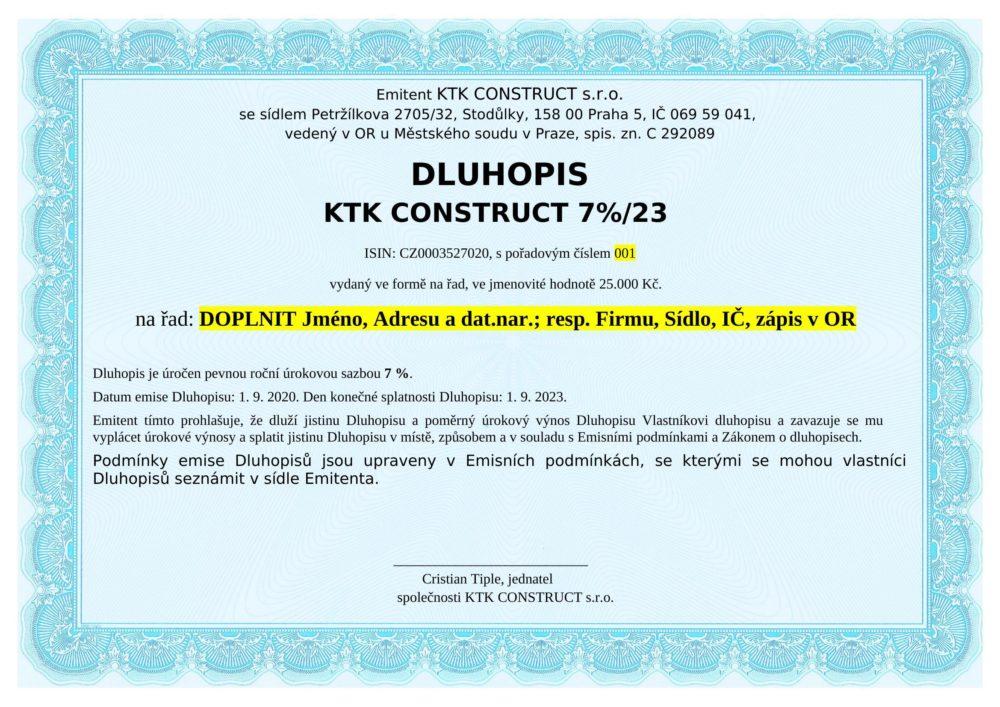 KTK CONSTRUCT IX/2023